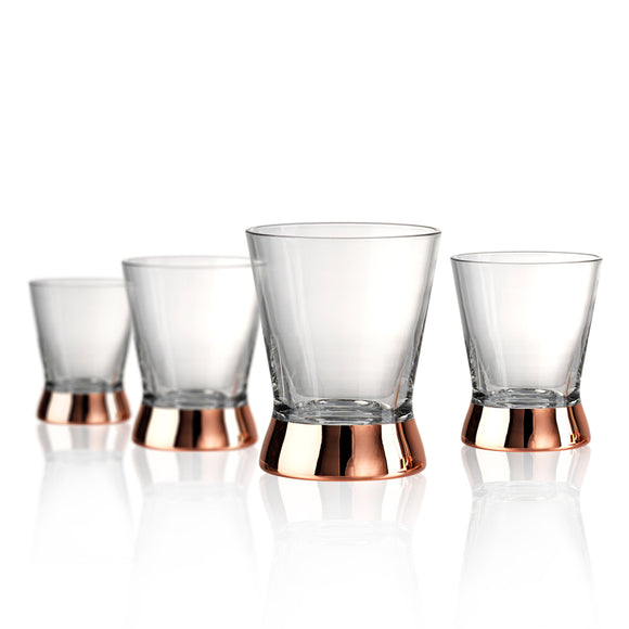 Coppertino DOF Glasses, Set/4