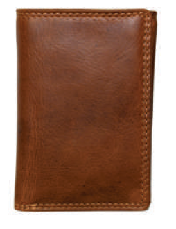 Rugged Earth Leather Wallet, Style 990006