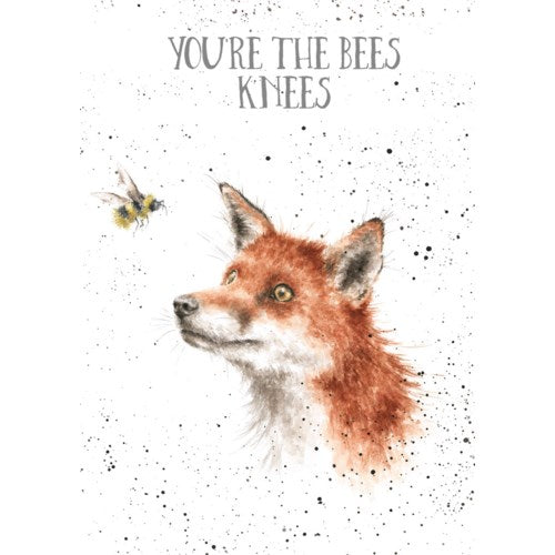 Relationship Card, Fox And Bee