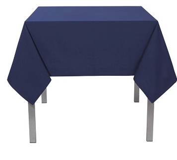 Now Designs Renew Tablecloth, Indigo 55x55