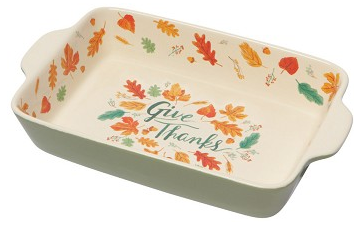 Autumn Harvest Baking Dish,