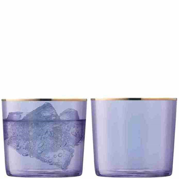 LSA Sorbet Tumblers, Blueberry Set of 2 10.5oz