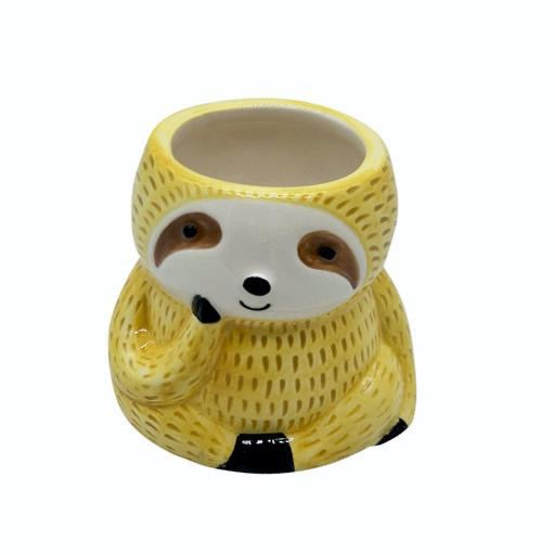 Cup, Sloth in Yellow Sweater