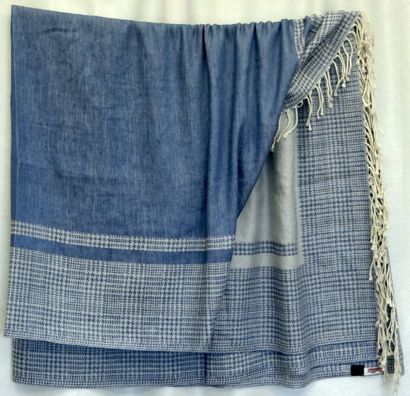 Linen Throw Blanket (D)