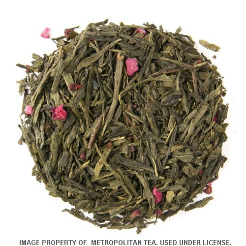 100g Bohemian Raspberry, Green Tea