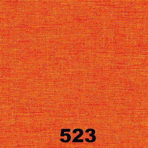 "Linosa - Orange Curtain, 140x260cm/55x102"" (Single)"