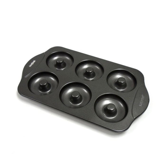 Nonstick Donut Pan, 6 Wells 13x8.5
