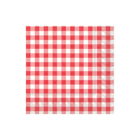 Lunch Napkin - Taverna, Red