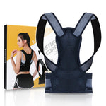 TLPose Back Posture Corrector - Adjustable back brace support to relieve back pain and improve posture