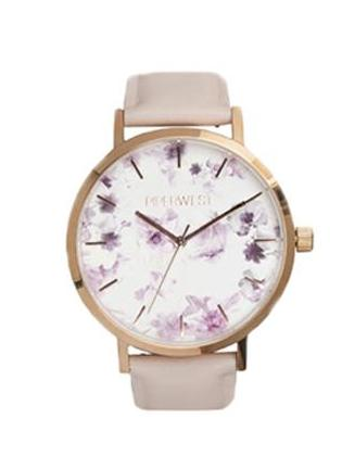 Floral Minimalist Classic in Rose Gold & Lilac