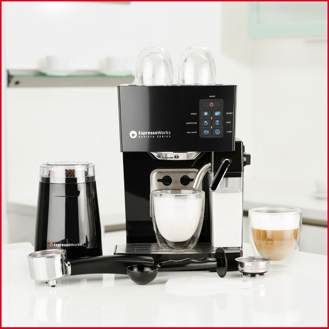 All About EspressoWorks' All-in-one Espresso Machines - Coffee Life by EspressoWorks
