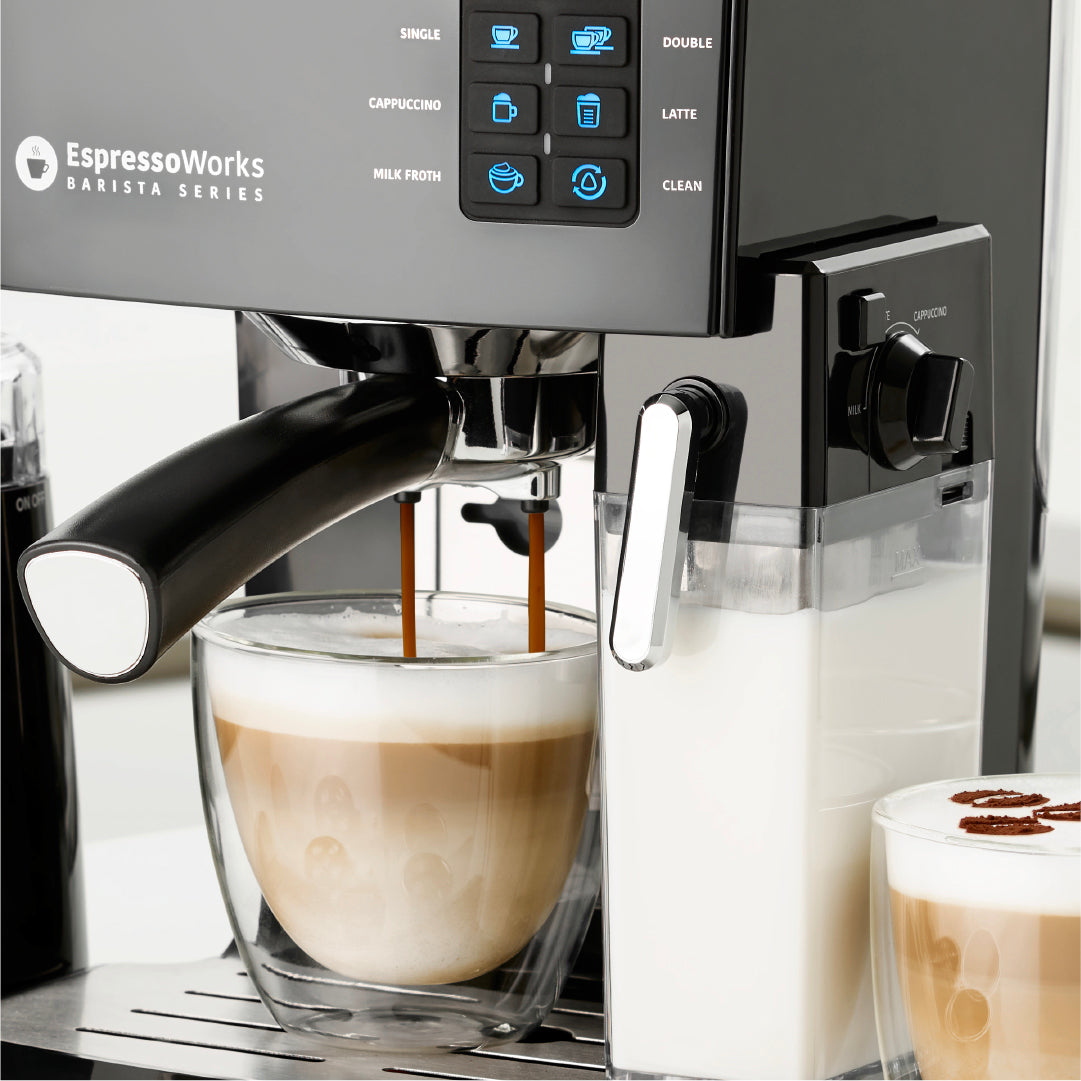 How EspressoWorks Espresso Machines Help Maintain the Perfect Espresso Temperature, From Grind to Brew - Coffee Life by EspressoWorks