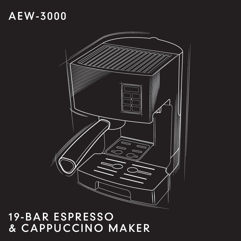 Troubleshoot the EspressoWorks 19-bar Espresso and Cappuccino Maker