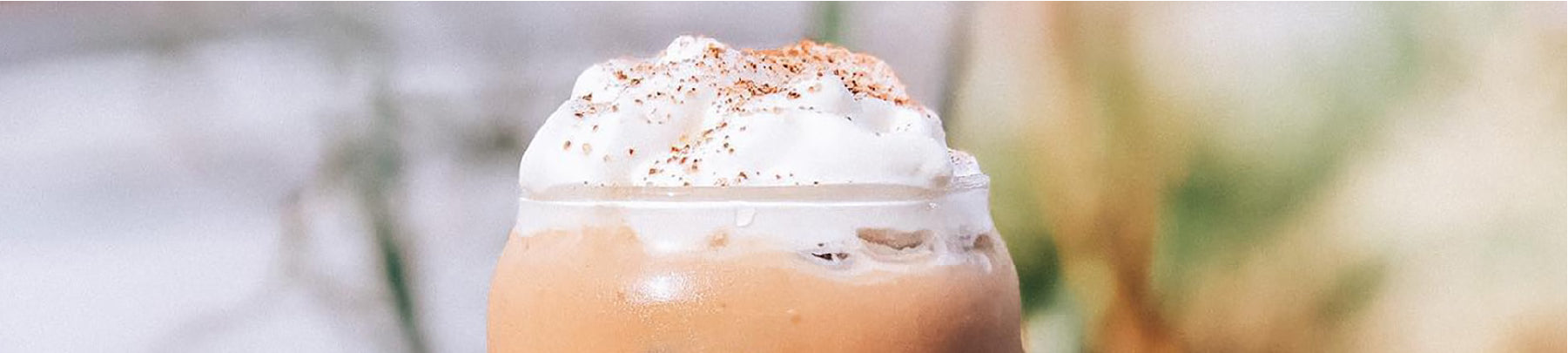 Iced Coffee with a Decadent Whipped Cream Froth - from Coffee Life, a blog by EspressoWorks