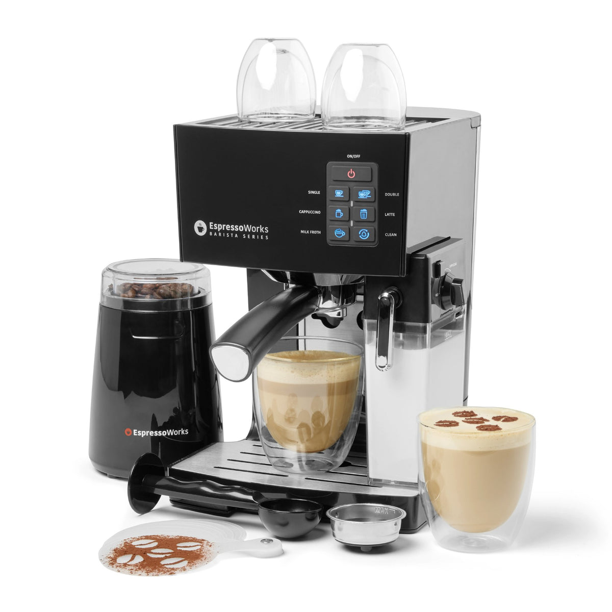 Replacement Milk Tank only compatible with the EspressoWorks 10pc 19-bar Espresso and Cappuccino Maker Set