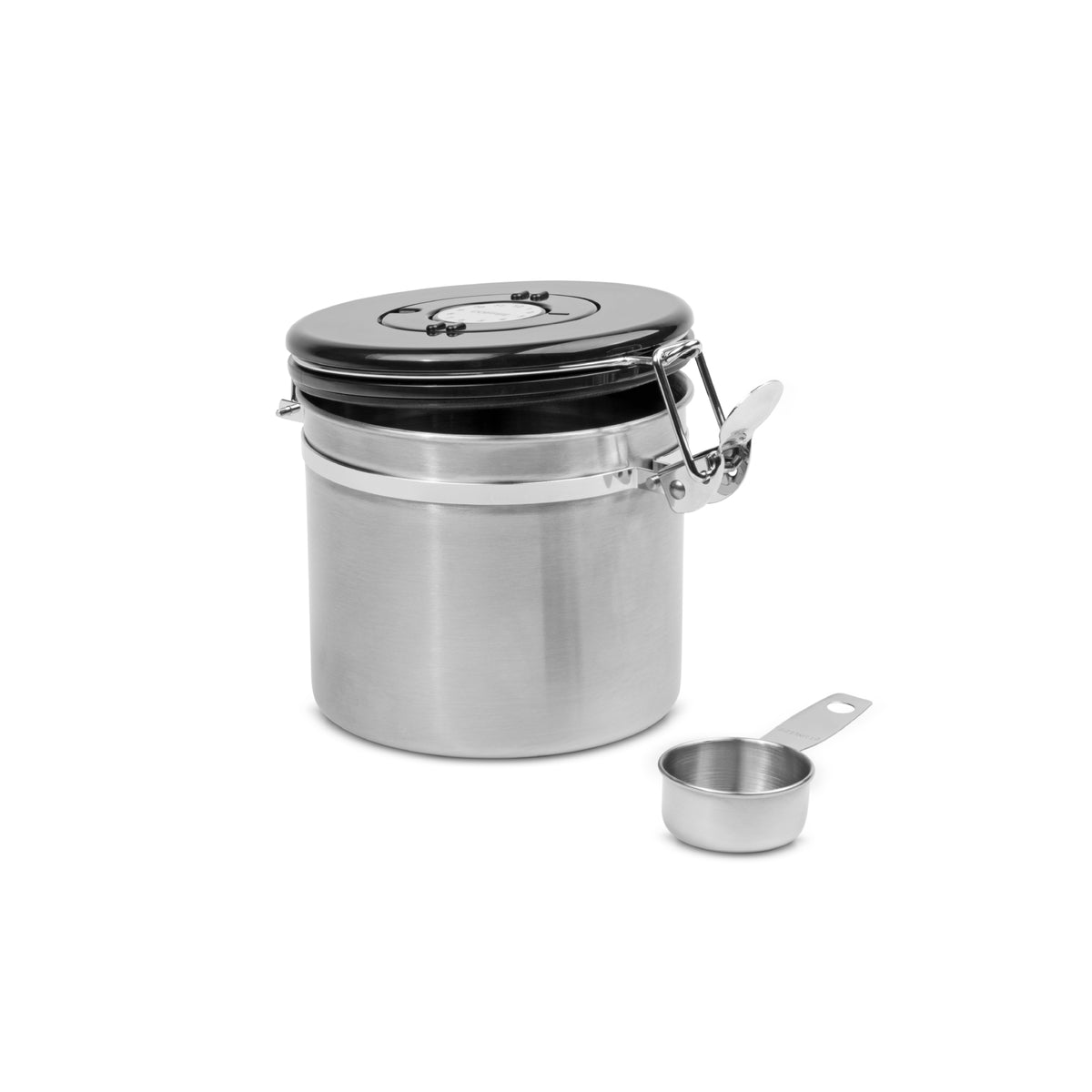 EspressoWorks Airtight Coffee Canister Container with Stainless Steel Spoon