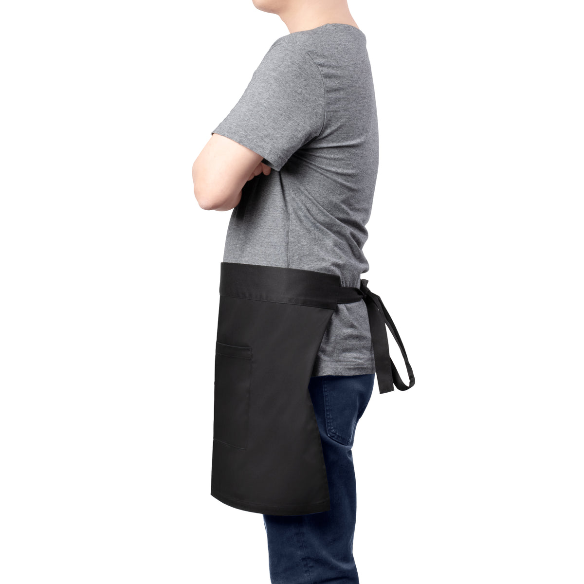 Barista Half Apron with 2 Front Pockets - Barista Essentials by EspressoWorks