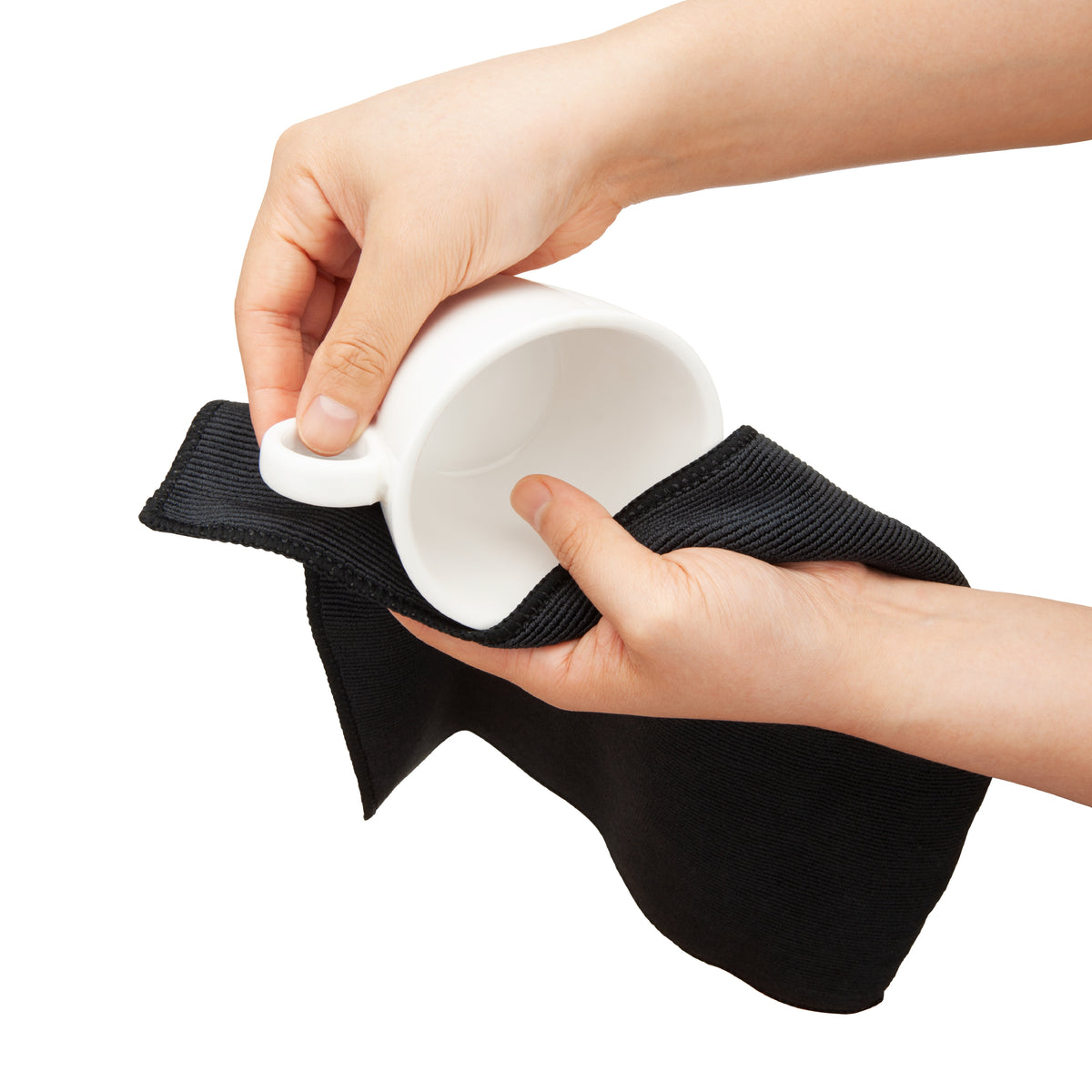 Cleaning with the EspressoWorks 100% Microfiber Cleaning Cloths (2 Pack)