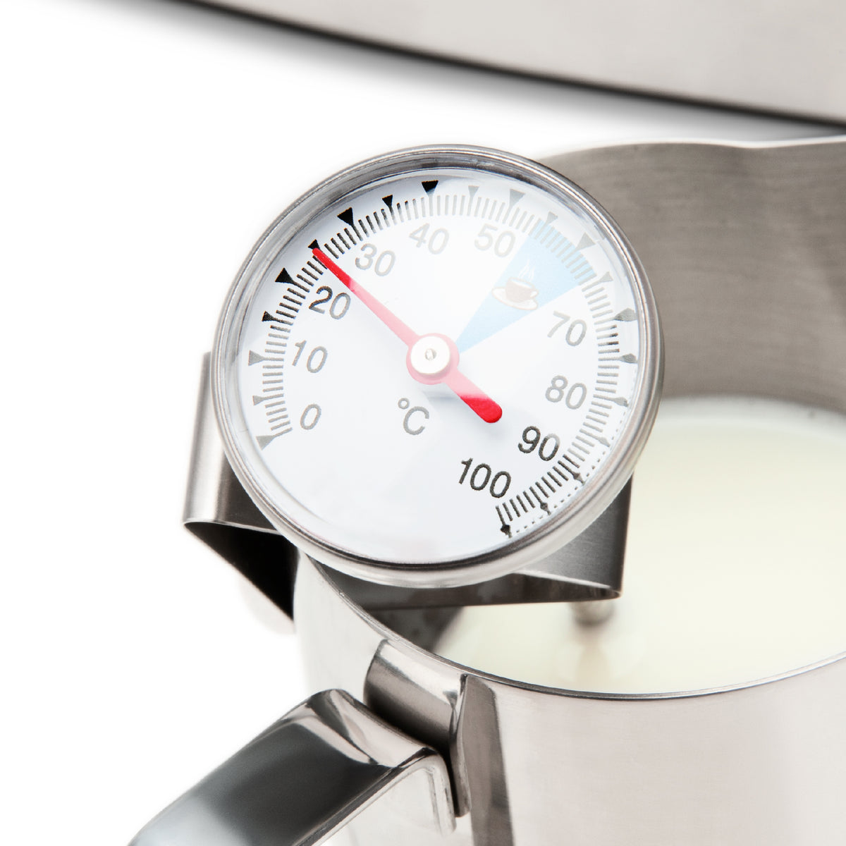 EspressoWorks Milk and Coffee Thermometer with Clip