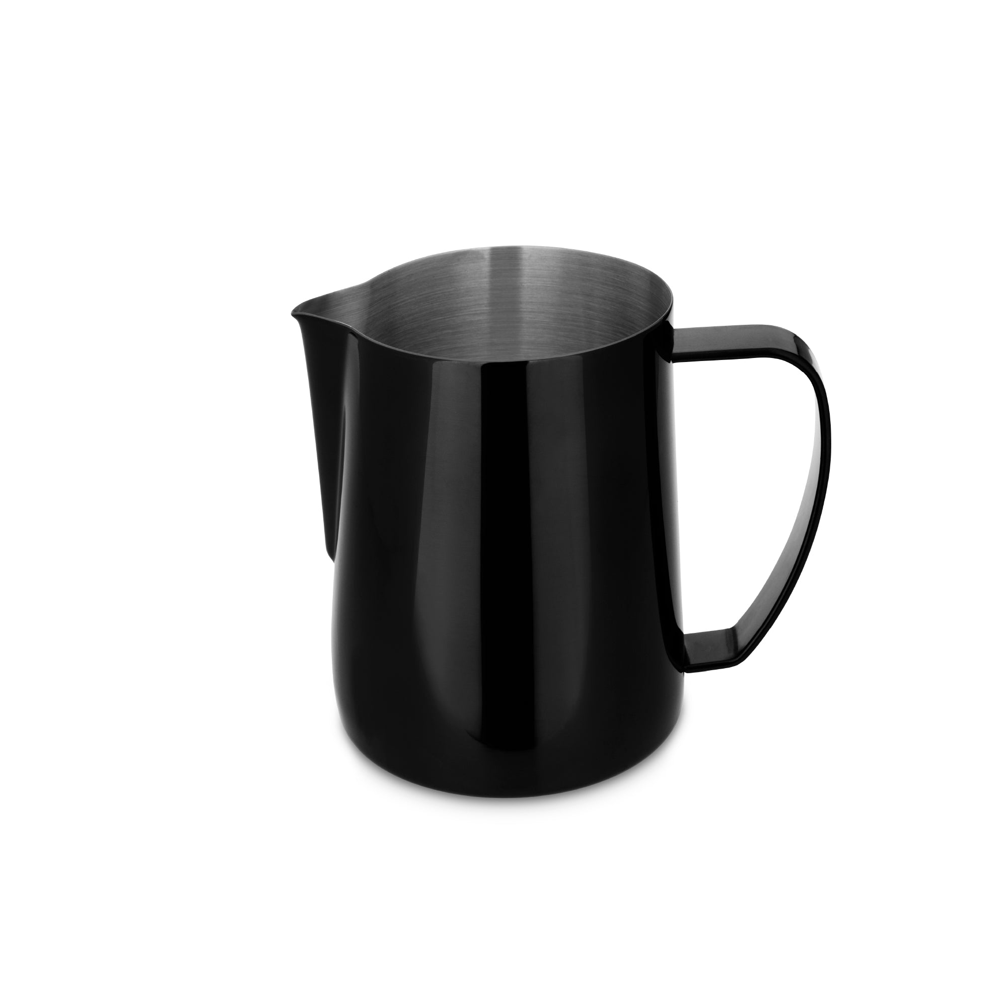 EspressoWorks Stainless Steel Milk Frothing Jug - Black (600ml)