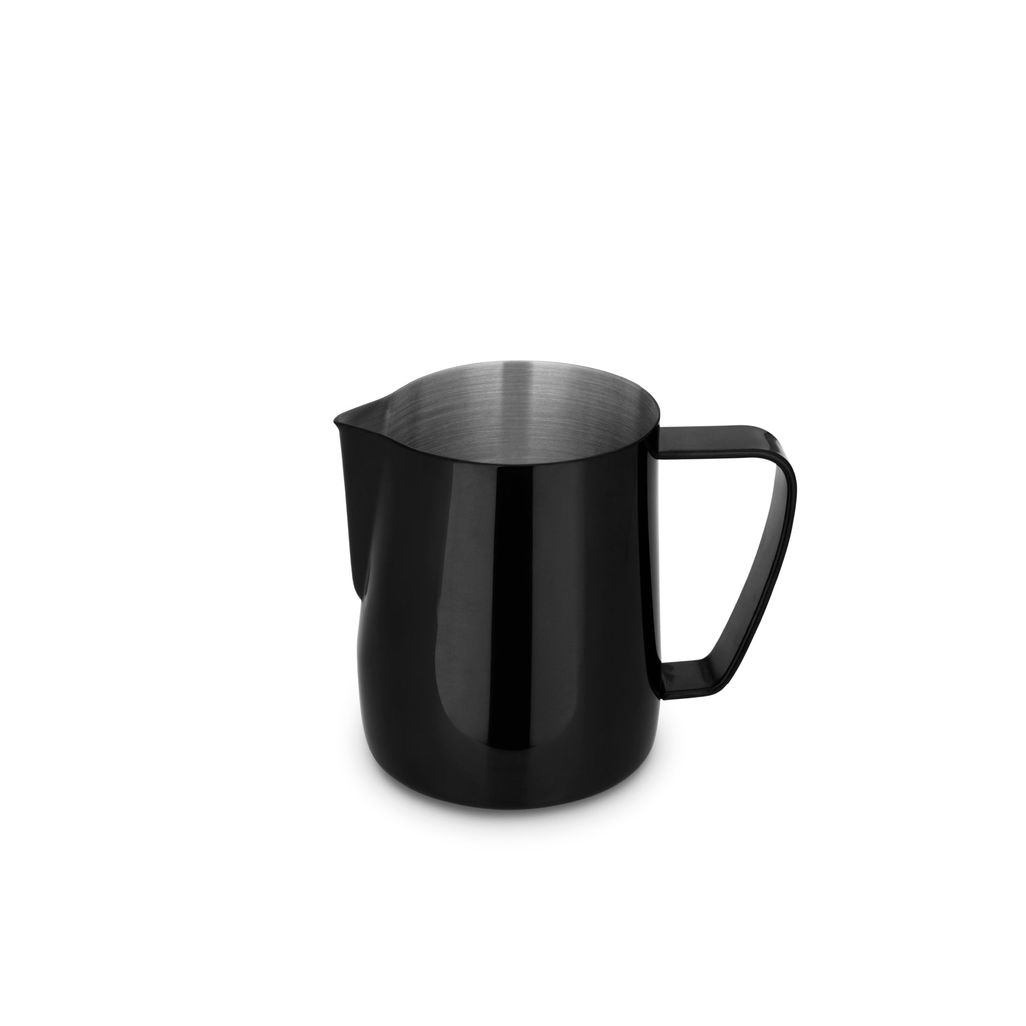 EspressoWorks Stainless Steel Milk Frothing Jug - Black (350ml)
