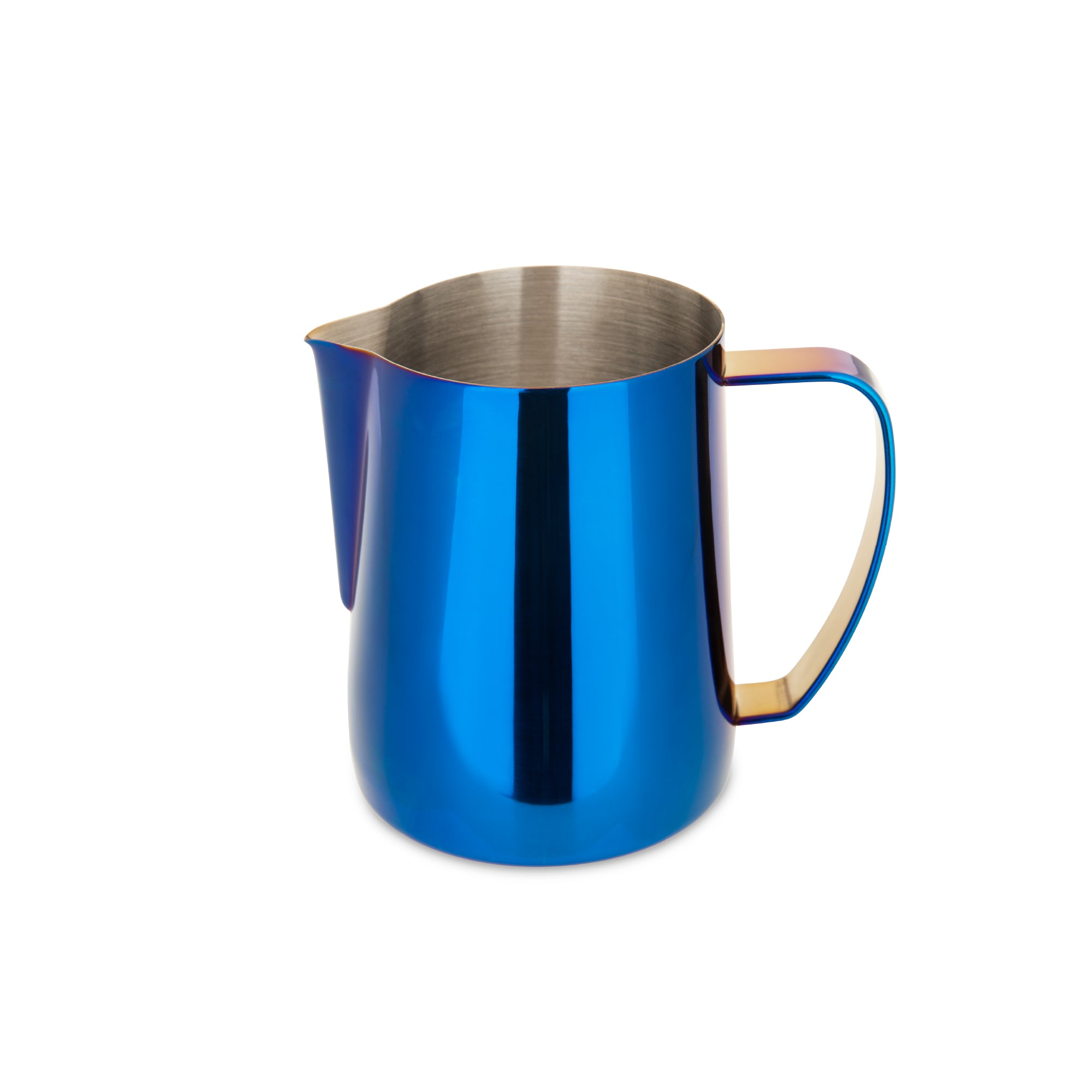 EspressoWorks Stainless Steel Milk Frothing Jug - Blue (600ml)