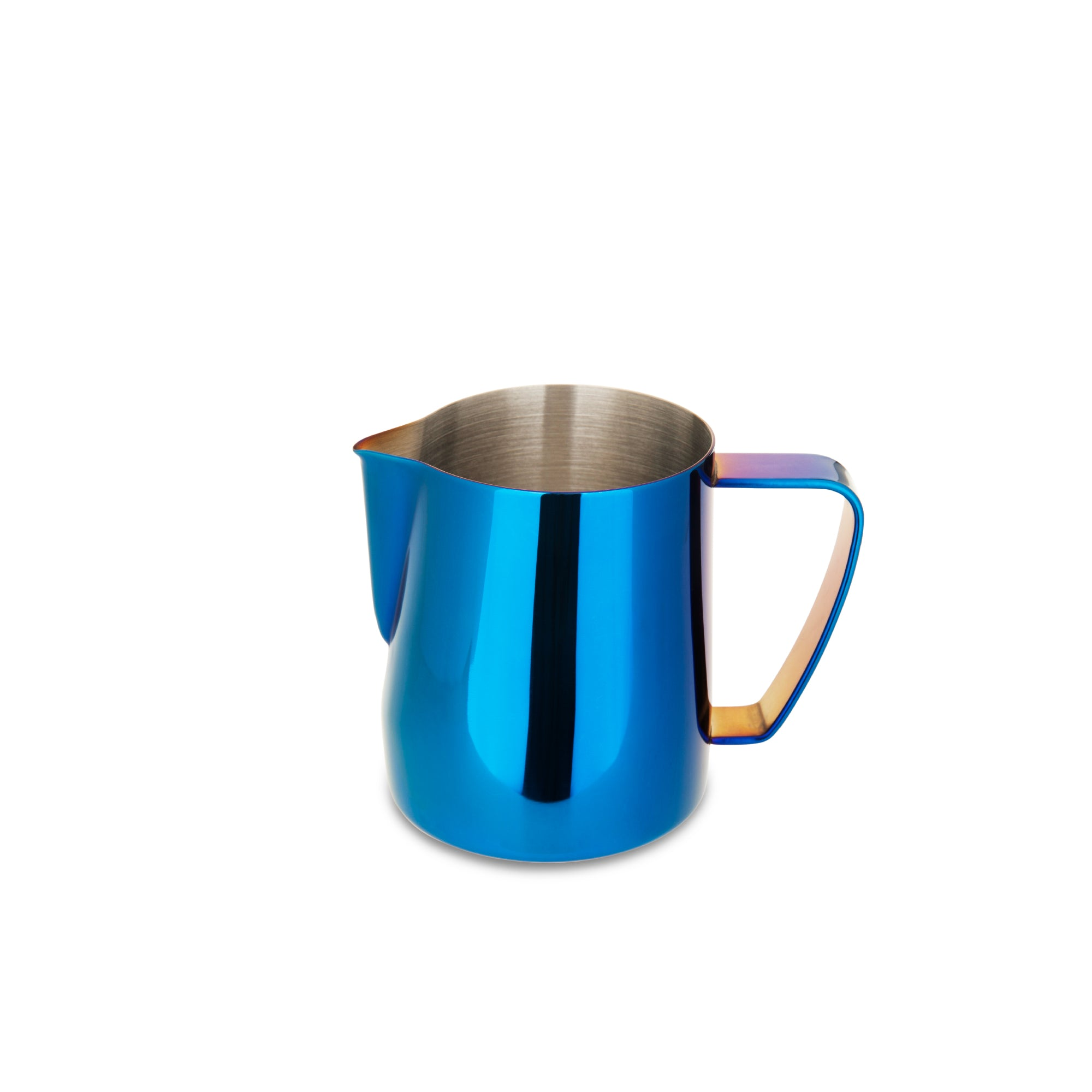EspressoWorks Stainless Steel Milk Frothing Jug - Blue (350ml)