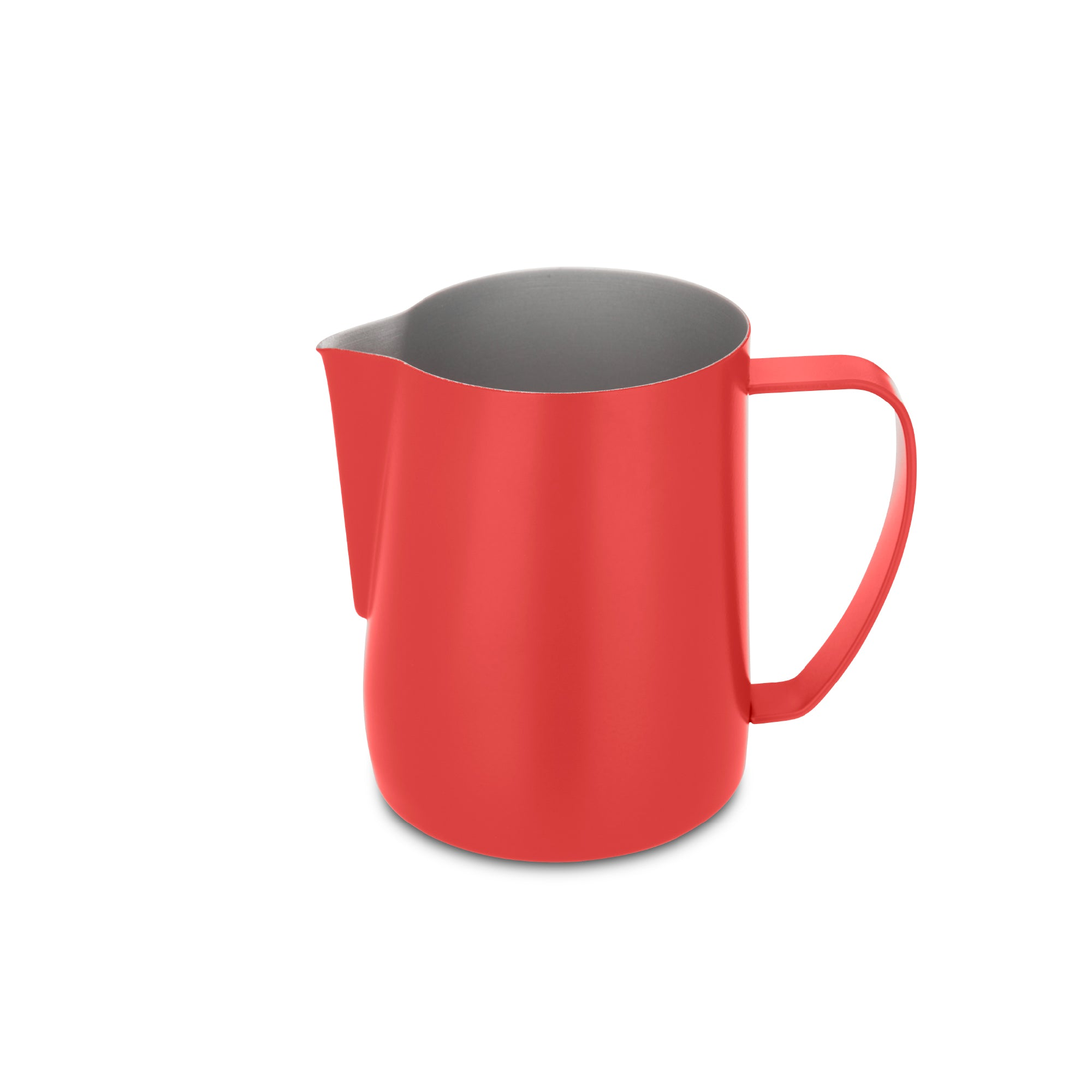 EspressoWorks Stainless Steel Milk Frothing Jug - Matte Red (600ml)
