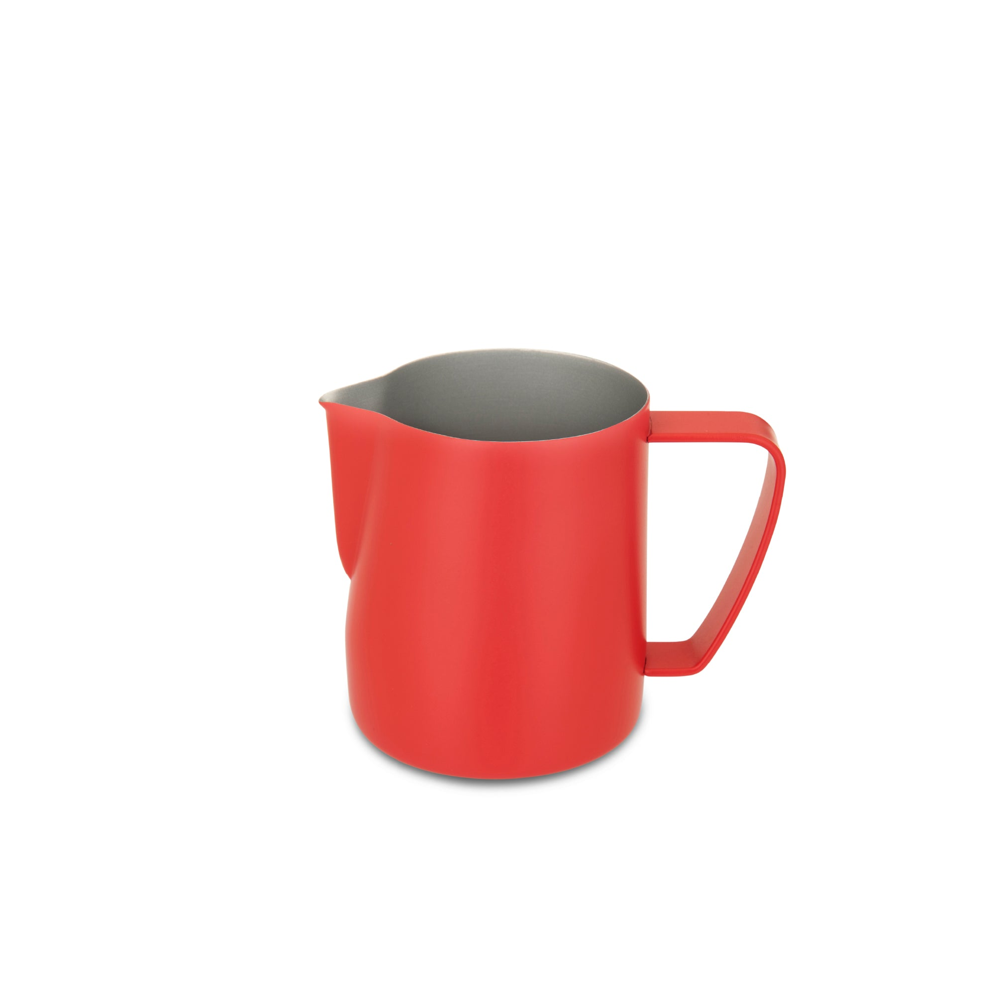 EspressoWorks Stainless Steel Milk Frothing Jug - Matte Red (350ml)