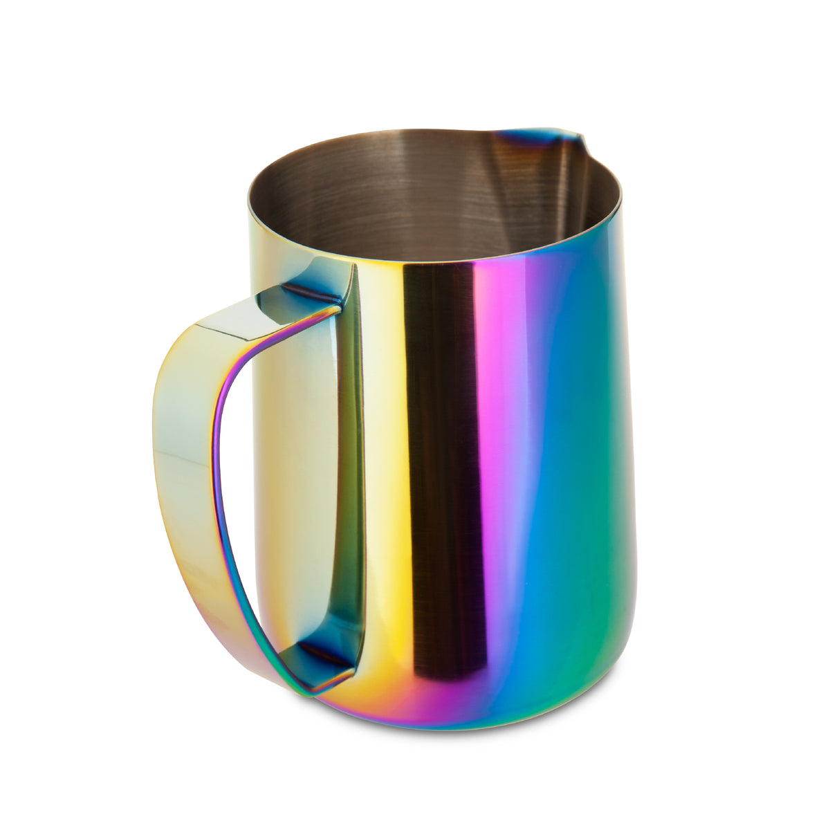 EspressoWorks Stainless Steel Milk Frothing Jug - Rainbow (600ml)