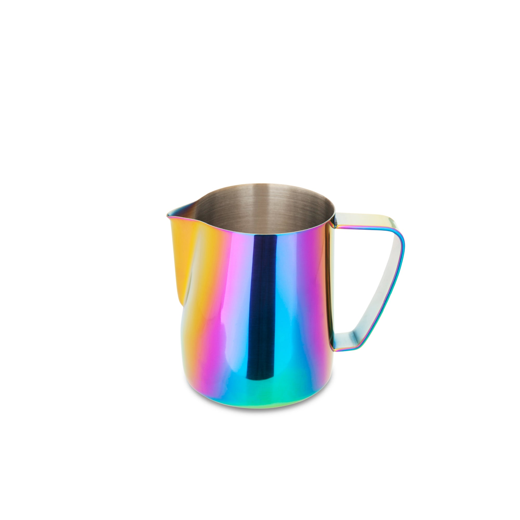 EspressoWorks Stainless Steel Milk Frothing Jug - Rainbow (350ml)