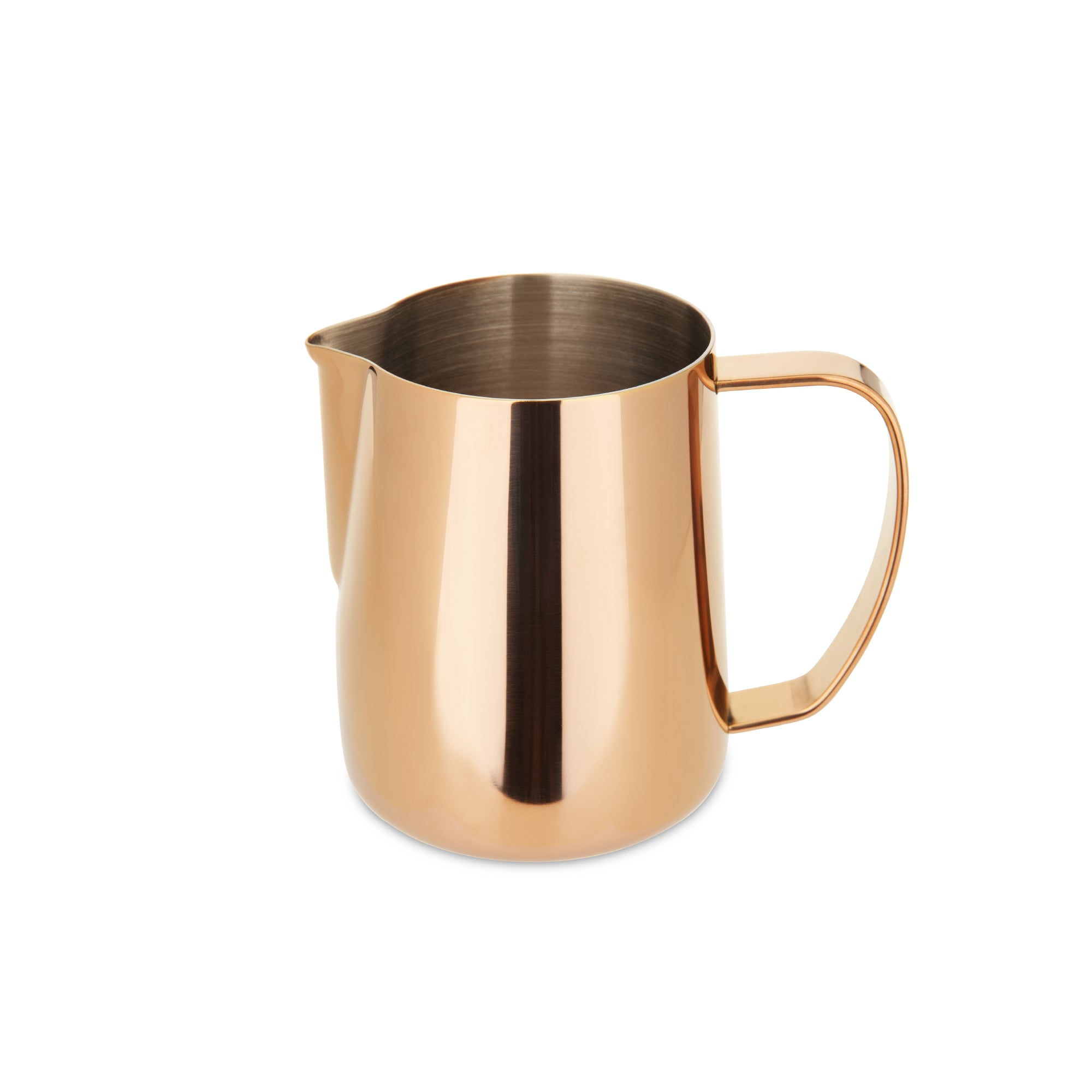 EspressoWorks Stainless Steel Milk Frothing Jug - Rose Gold (600ml)