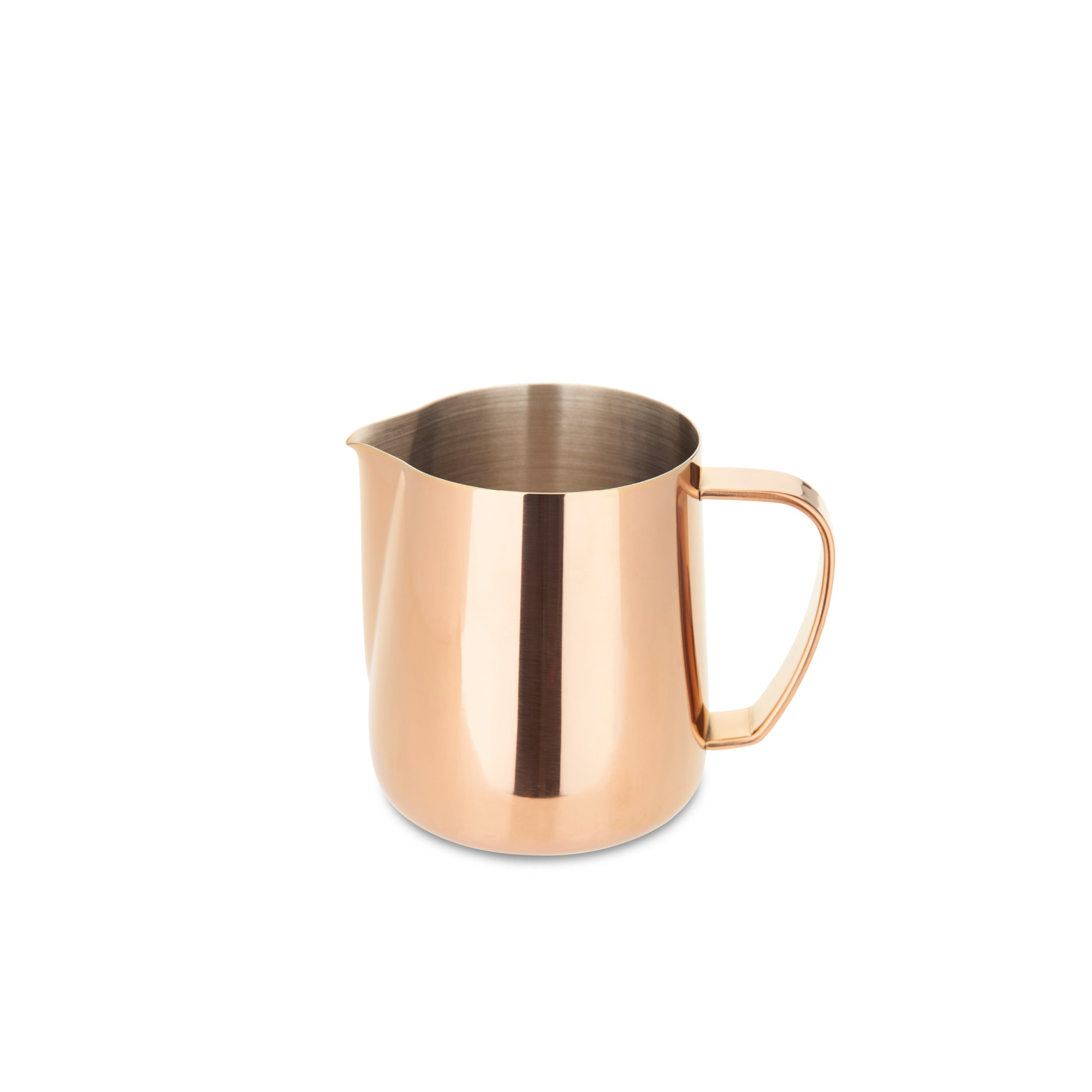 EspressoWorks Stainless Steel Milk Frothing Jug - Rose Gold (350ml)