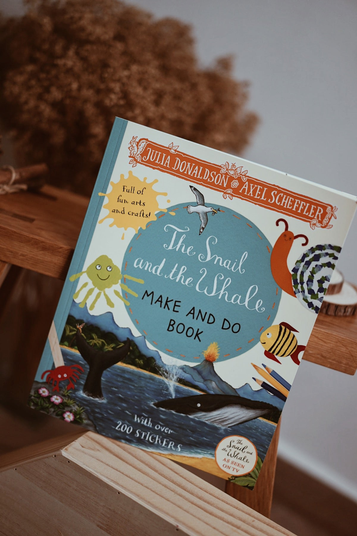 The Snail and the Whale Make and Do Book by Julia Donaldson