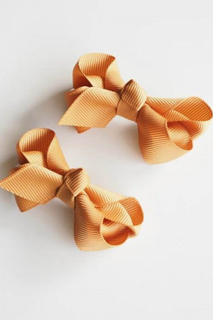 Open image in slideshow, Clip Bow - Small (Set of 2)
