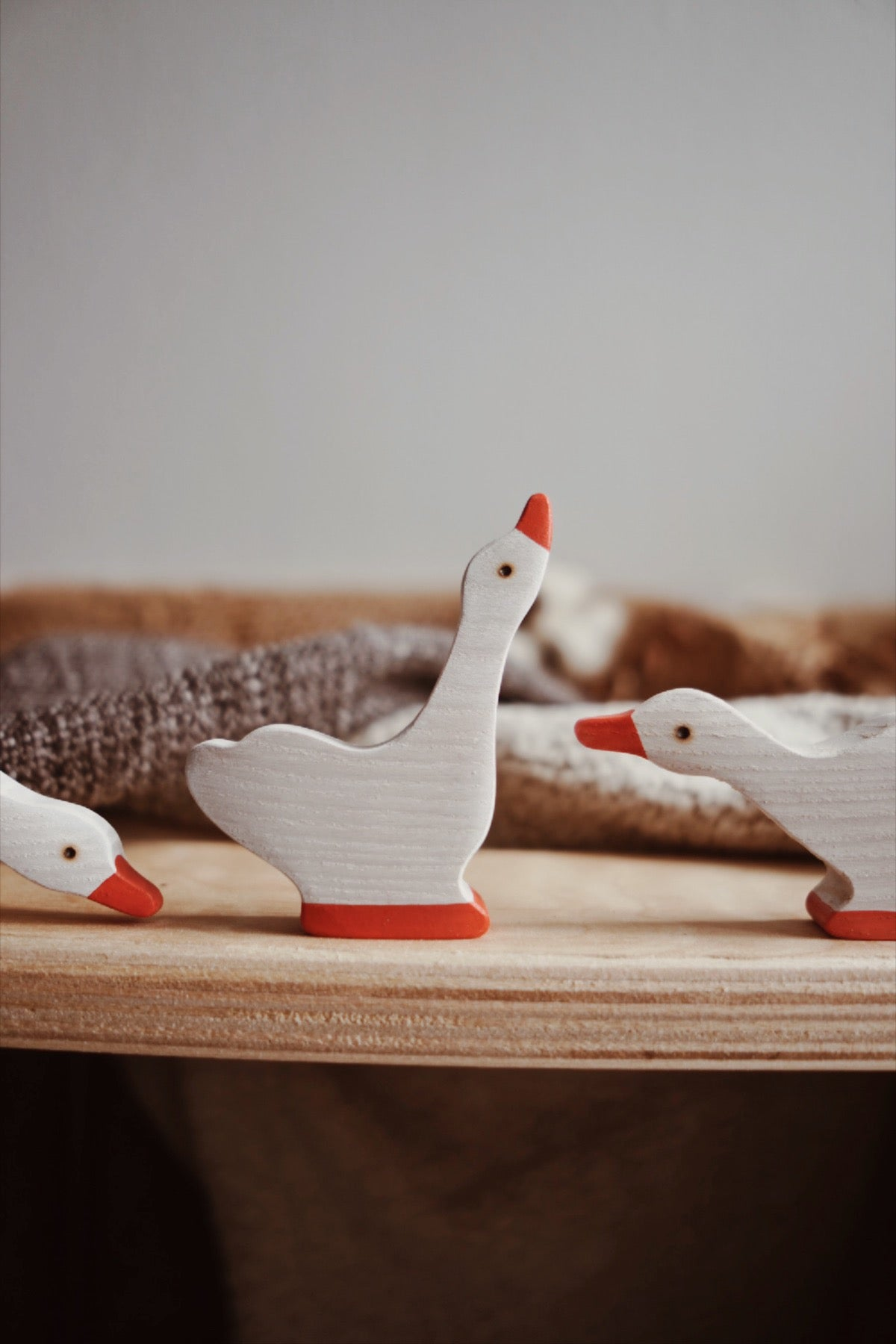 Gander, Geese and Gosling - Set of 4