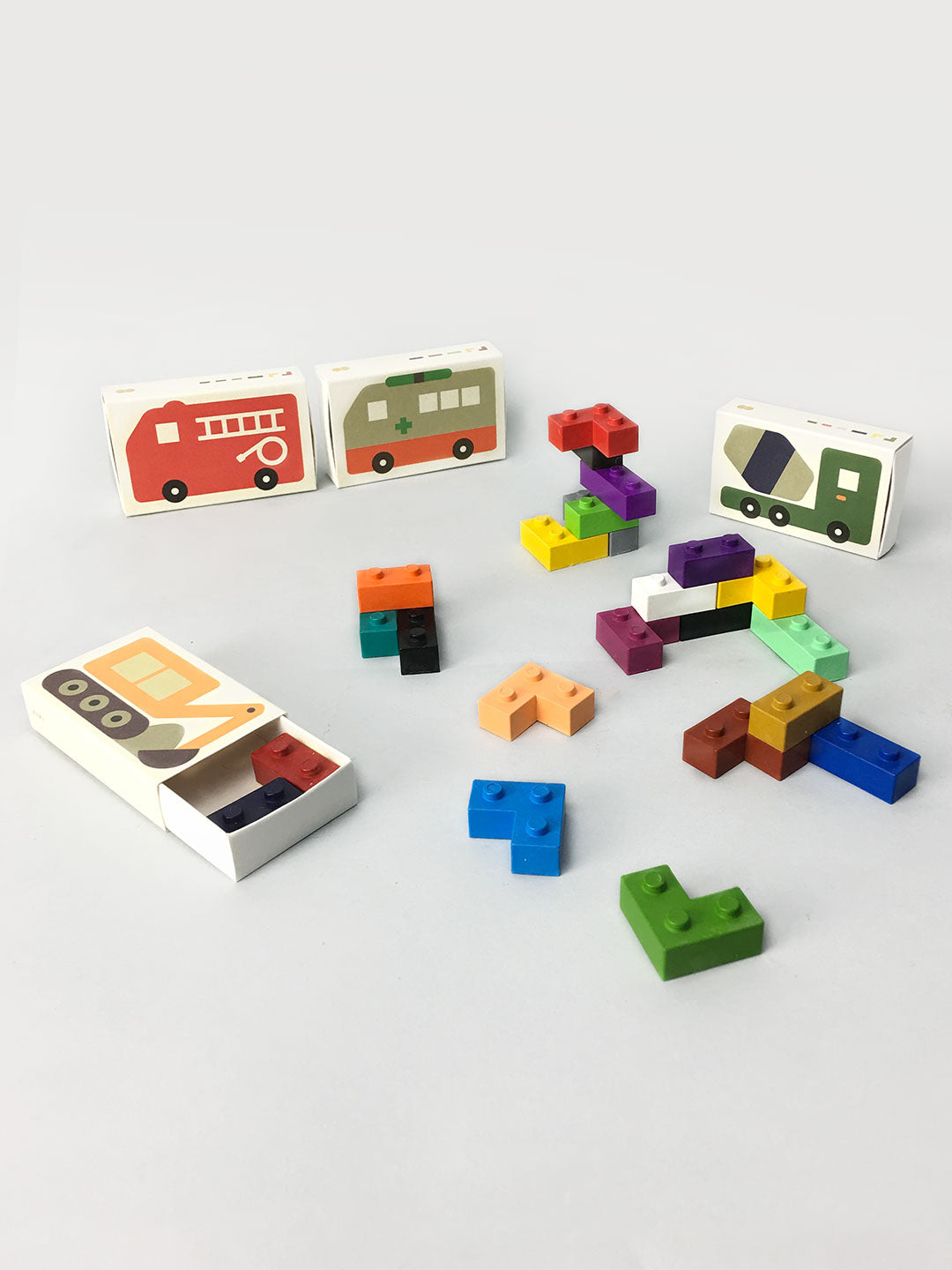 Pocket Crayons - Cars