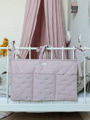Open image in slideshow, Linen Nursery Caddy