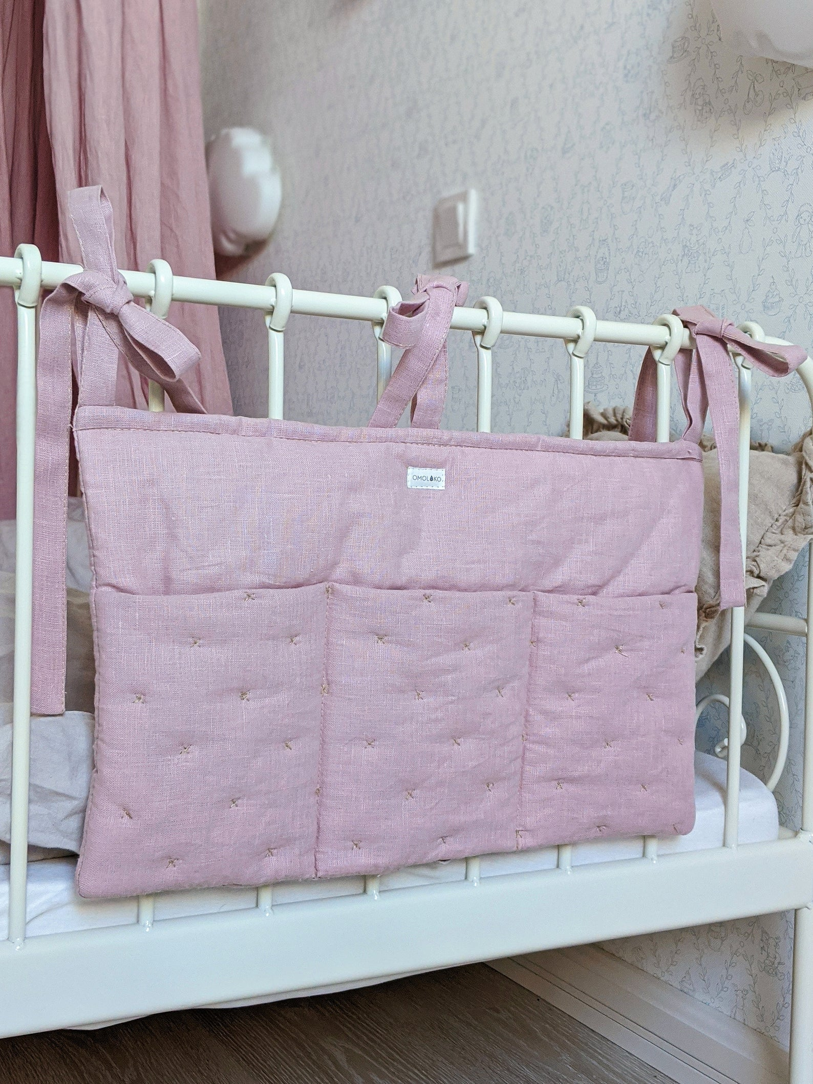 Linen Nursery Caddy