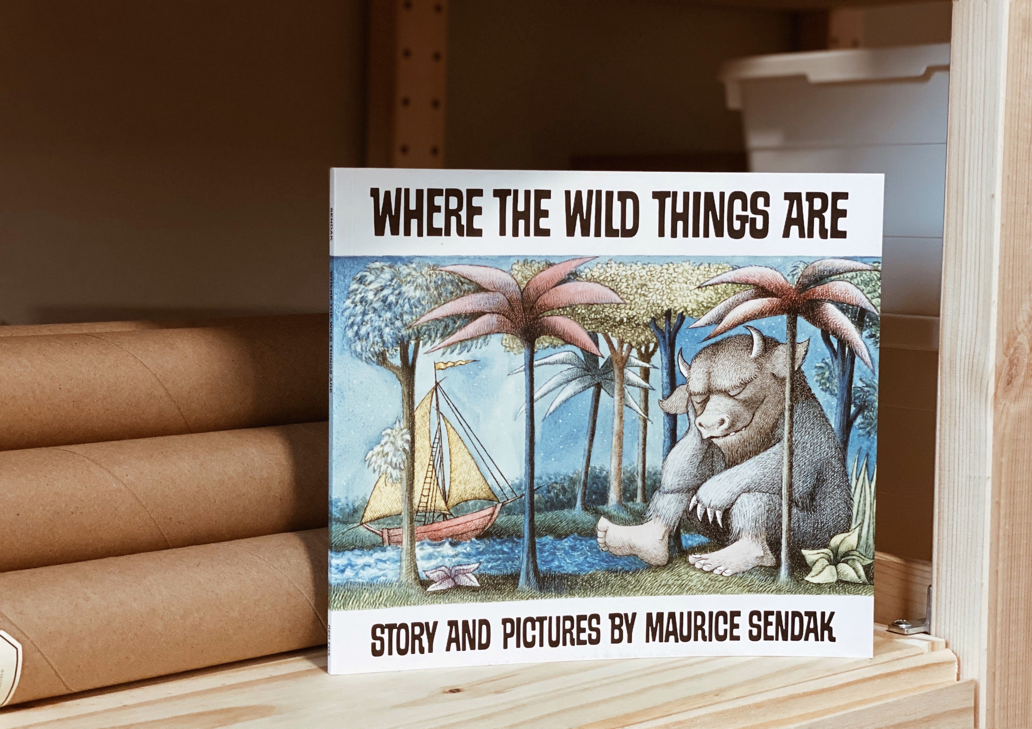 Where the Wild Things Are by Maurice Sendak (50th Anniversary Edition)