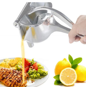 Jacklamart Manual Stainless Steel Mini Juicer – Portable, Durable, & Easy to Wash