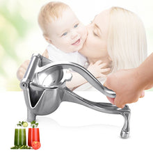 Load image into Gallery viewer, Jacklamart Manual Stainless Steel Mini Juicer – Portable, Durable, & Easy to Wash