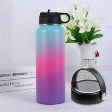 Load image into Gallery viewer, Stainless Steel Water Bottle Thermos Hydroflask Outdoors Sports Wide Mouth Vacuum Insulated Thermal Tumbler Bottle hydro flask