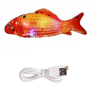 Cat Toy Electric USB Charging Simulation Fish Toys