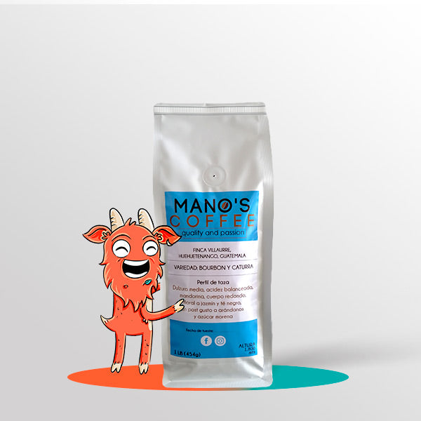 Mano's Coffee - Anaeróbico Natural - Blends