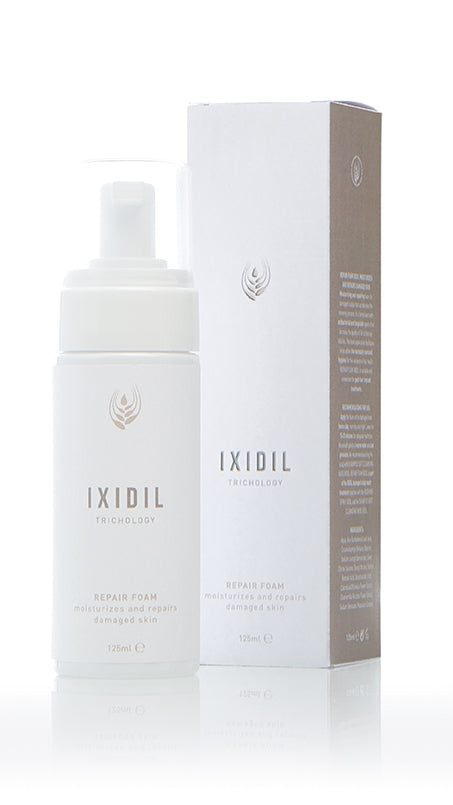 REPAIR FOAM IXIDIL moisturizes and repairs damaged skin
