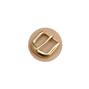 Z10 1pcs Solid Brass 35mm Belt Buckle End Bar Heel Bar Buckle Middle Center Bar Buckle Single Pin Heavy-duty for Leather Craft Strap