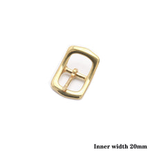 将图片加载到图库查看器,Z7 1 x Solid Brass Belt Buckle Tri Glide Middle Center Bar Buckle for Leather Craft Bag Strap Garment Belt Bridle Halter Harness