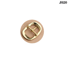 将图片加载到图库查看器,Z10 1pcs Solid Brass 35mm Belt Buckle End Bar Heel Bar Buckle Middle Center Bar Buckle Single Pin Heavy-duty for Leather Craft Strap