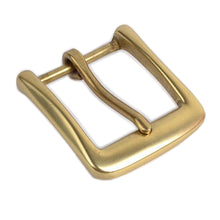 Load image into Gallery viewer, 7.1 High quality Solid brass pin buckle Fashion Men's Belt Buckles fit 4cm 1.57in Wide Belt Classic Mens Jeans accessories 40mm